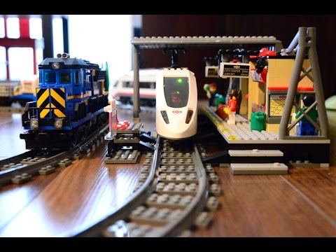 Lego City Trains 60050 60051 60052 Youtube