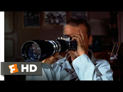 Rear Window (2/10) Movie CLIP - A Closer Look at the Salesman (1954) HD