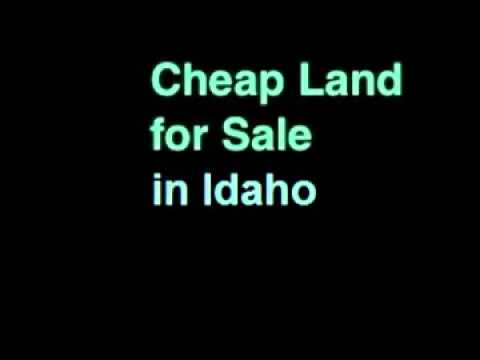Cheap Land for Sale in Idaho – 25 Acres – Boise, ID 83701