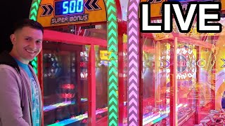 Late night LIVE at the Arcade!