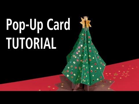 Christmas Tree Pop-Up Card Tutorial