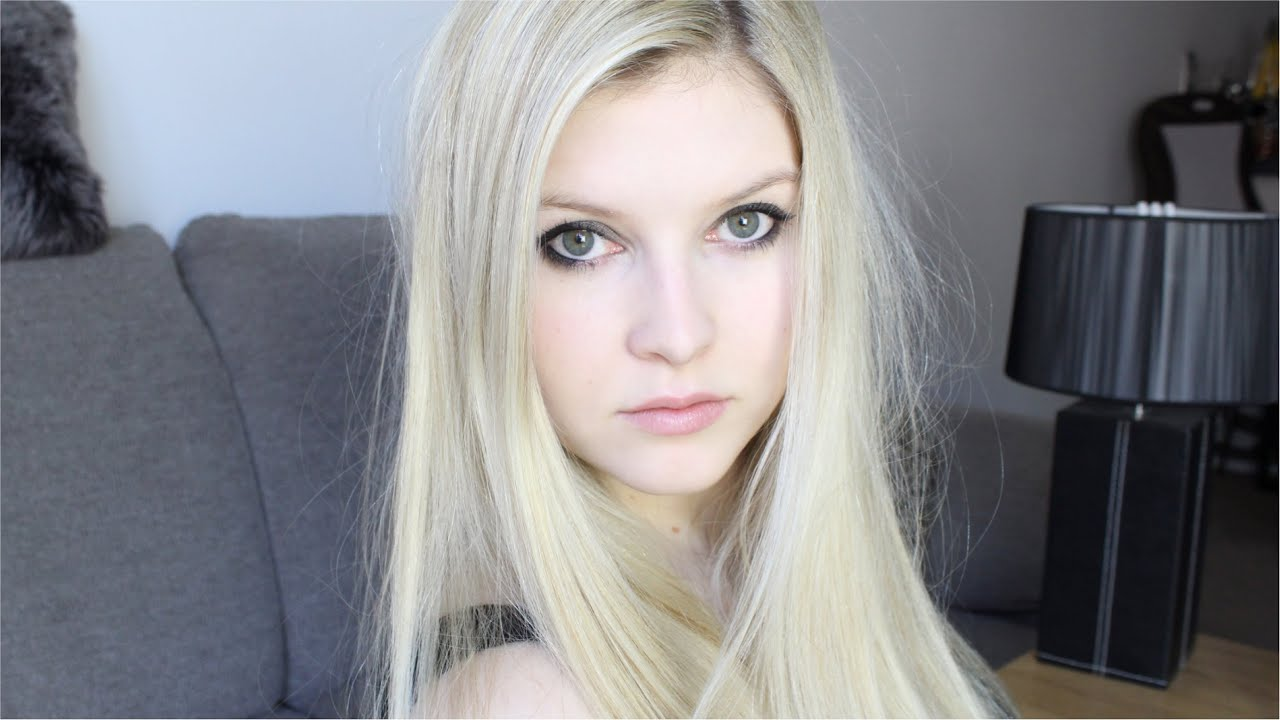 Avril Lavigne Wearable Make Up Tutorial Youtube