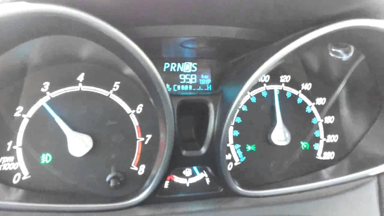 Ford Fiesta Kinetic Titanium Powershift Consumo Video N1