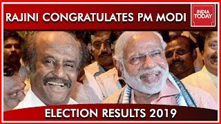 Rajinikanth Congratulates PM Modi In A Tweet | Results 2019