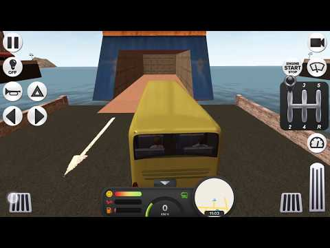 Coach Bus Simulator - MANUAL WITH CLUTCH + Ferry & More