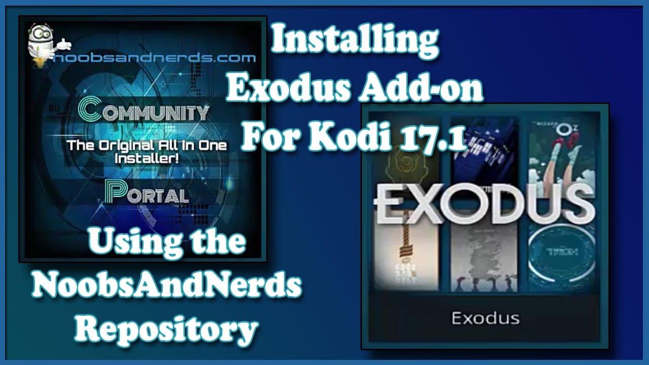kodi 17 install exodus addon