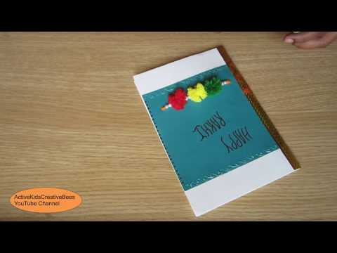 Musical greeting cards for raksha bandhan free mp3 download search how to make handmade greeting cards for raksha bandhan diy raki card m4hsunfo