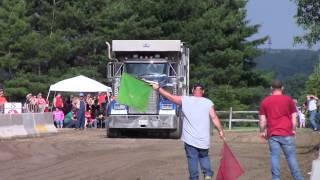 Grantsville Days 6-29-14 Tri-Axle Dump Truck Pull