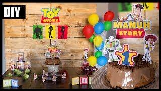 🎈FESTA TOY STORY ⭐ #FestaDIYCasa   Especial Disney