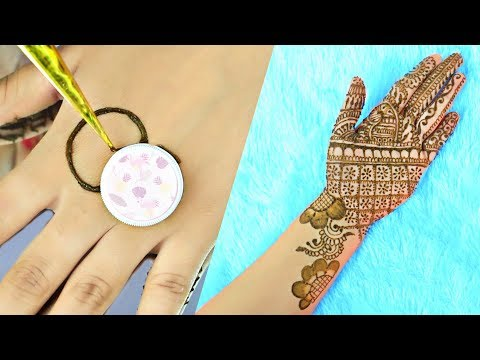 3 WEIRD Mehendi/Henna TRICKS You MUST Try - करवा चौथ/दिवाली मेहँदी Full Hands Designs | Anaysa