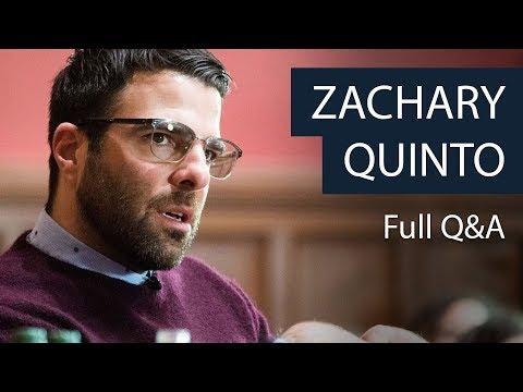 Zachary Quinto  Full Q&A  Oxford Union