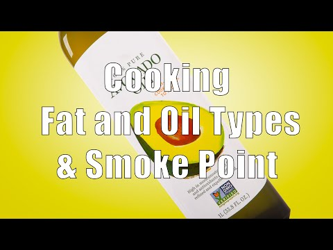 Cooking Fat and Oil Types & Smoke Points (Home Cooking 101) DiTuro Productions