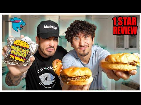 We TASTED Mr. Beast Burger Restaurant... (Here's what ...