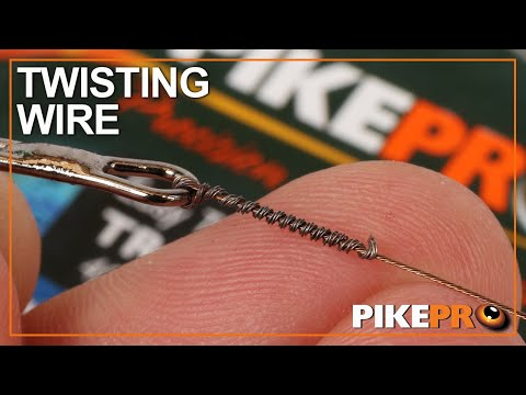 Pike Fishing : How To Twist Trace Wire