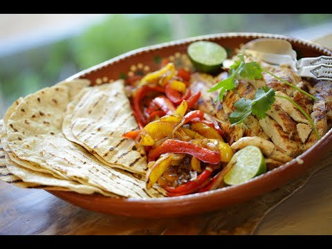 Beth's Tequila Lime Chicken Fajitas