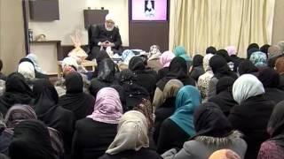 Gulshan-e-Waqfe Nau Lajna, 17 Dec 2011, Educational class with Hadhrat Mirza Masroor Ahmad(aba)