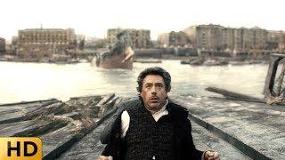 Холмс и Ватсон спускают на воду корабль. Шерлок Холмс.