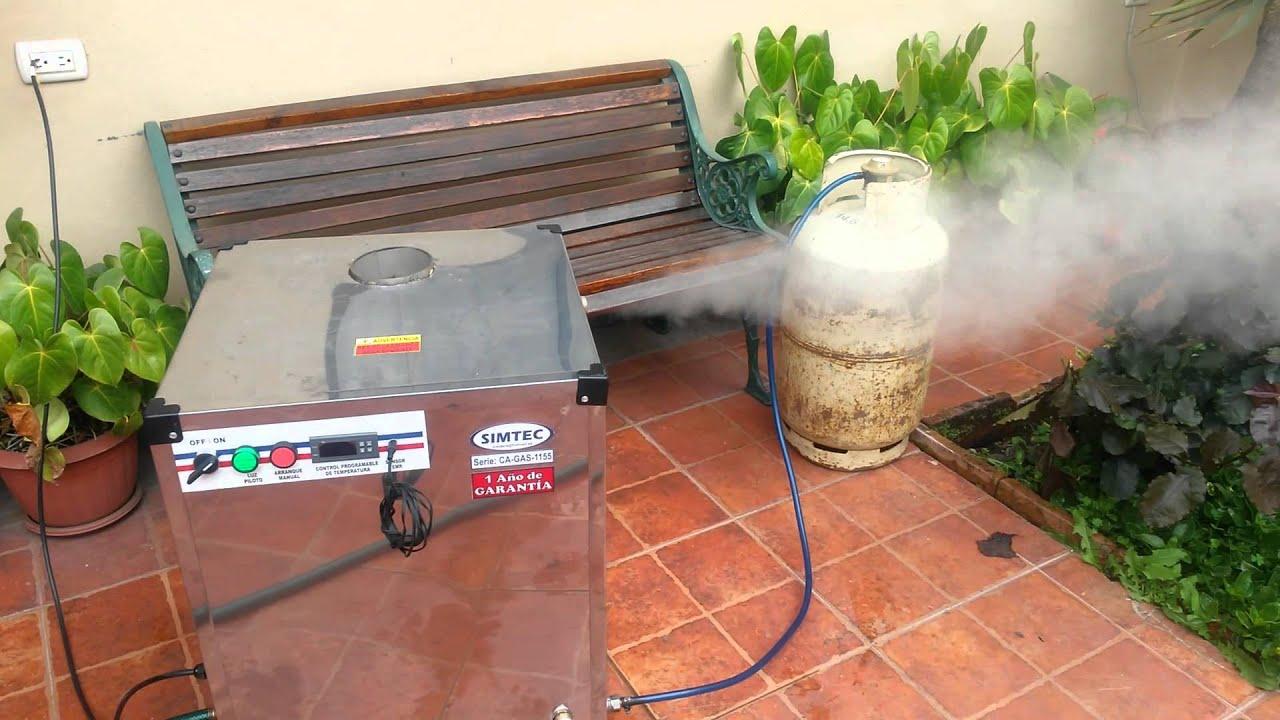 Generador de vapor para ba o turco youtube - Construccion de saunas ...