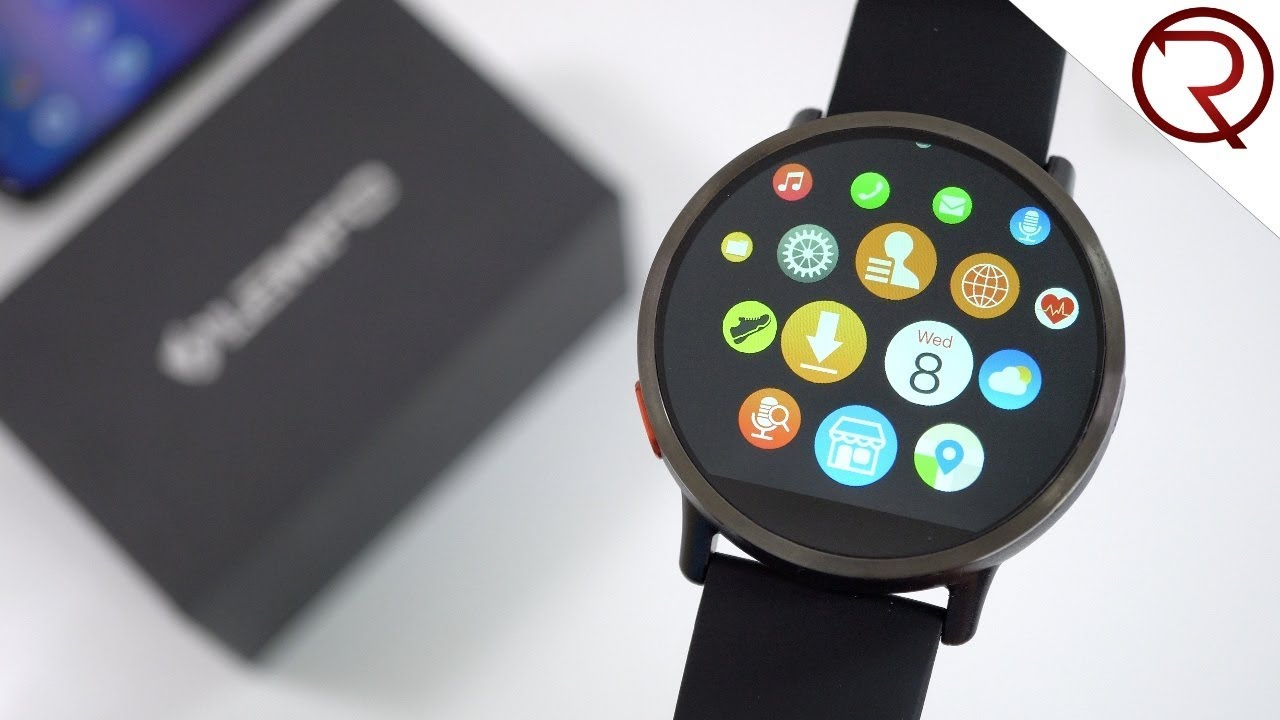473f05958 LEMFO LEM X Smartwatch - First Look and Hands On - 4G, Android 7.1, 900mAh  battery