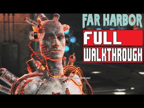 Fallout 4 Far Harbor Gameplay Walkthrough Part 1 FULL GAME 1080p HD Main Campaign