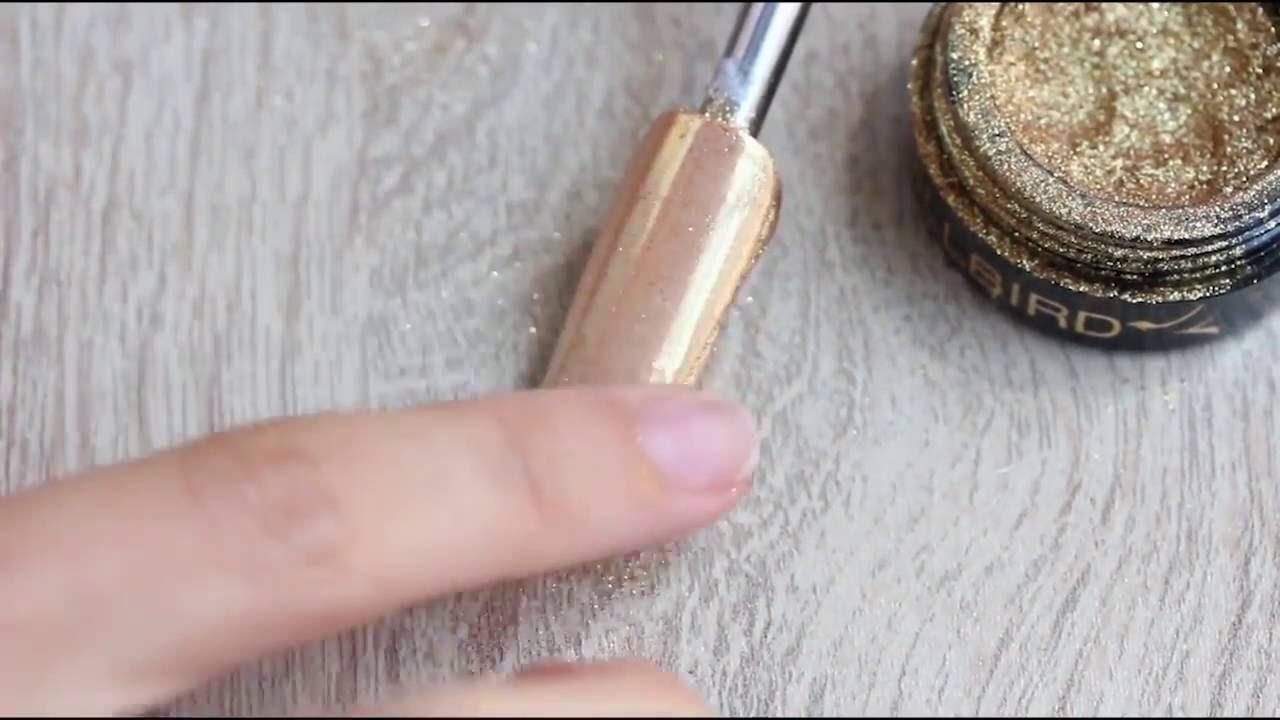 Pigment Chrome Gold | Pas cu Pas | BrillBird