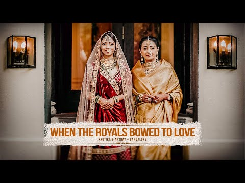 WHEN THE ROYALS BOWED TO LOVE - Krutika & Akshay Trailer