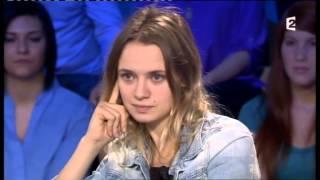 Sara Forestier & Félix Moati - On n'est pas couché 1er décembre 2012 #ONPC