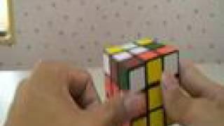 魔術方塊簡易解法教學三