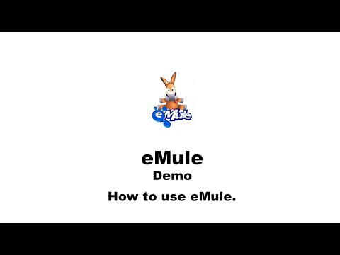 How to Use eMule for Windows - YouTube