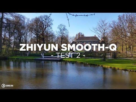 Zhiyun Smooth-Q With Warp Stabiliser Test // Chung Dha