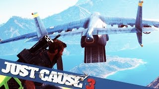 BIGGEST PLANE IN JUST CAUSE 3 MADNESS  :: Just Cause 3 PC Gameplay