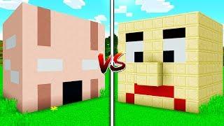 GRANNY HORROR vs BALDI'S BASICS MINECRAFT HOUSE!