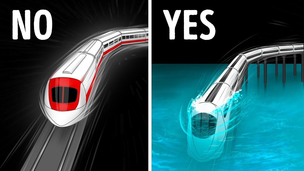 Dubai's Underwater Train and 13 Unreal Engineering Marvels