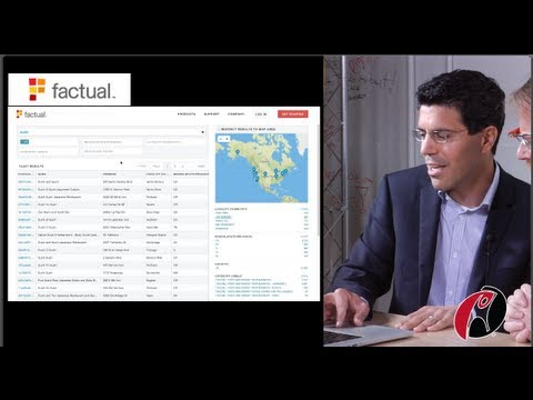 Factual's CEO Gil Elbaz Talks with Scoble about Global Data, Local Context.