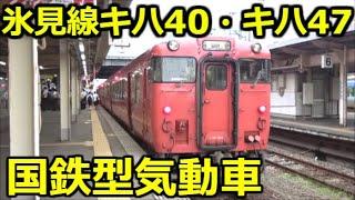 【国鉄型気動車】在来線だけで東京から富山へ行く旅 No,6【富山→氷見→高岡】