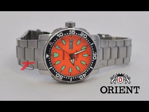 8414ea1859d Relógio Automático da ORIENT 469SS040 O1SX - YouTube