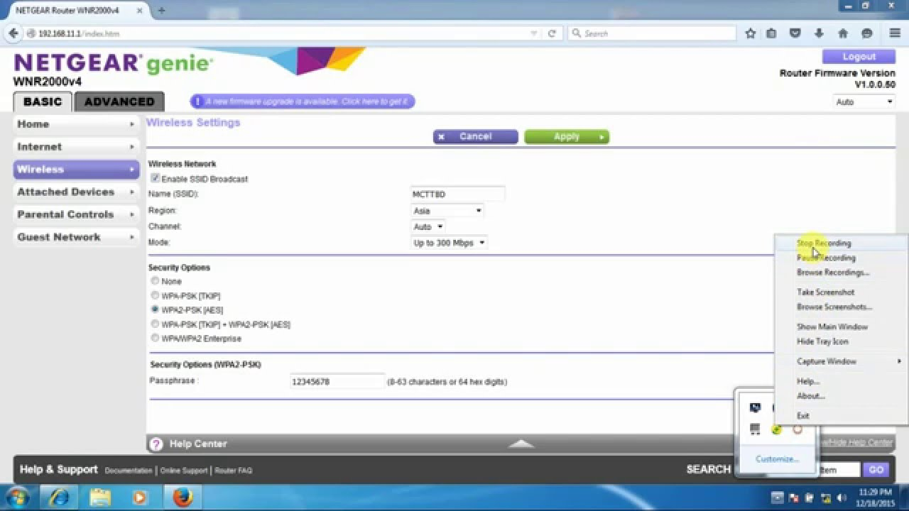 R7000 firmware version 1. 0. 7. 10 | answer | netgear support.