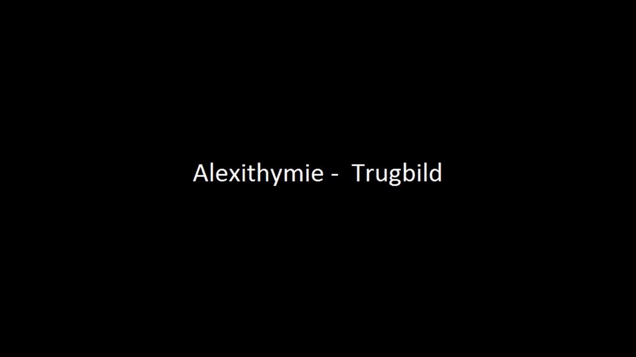 Alexthymie