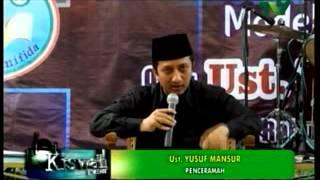 Ustadz Yusuf Mansur ; YM ; terbaru Des 2014 di Diwek Jombang Jatim