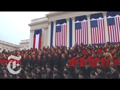 Inauguration 2013 | Brooklyn Tabernacle Choir - 'Battle Hymn of the Republic' | The New York Times
