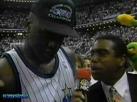 Shaq 25pts-11reb & Penny 17pts vs. Pacers Game7 1995 Playoffs ECF