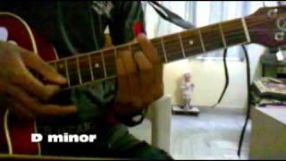 Sayonee guitar chord
