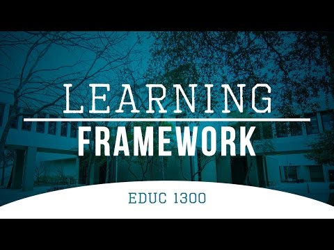 Learning Framework EDUC 1300 | Eastfield College