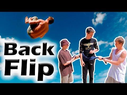 Как научиться Заднее сальто за одну тренировку (Back Flip Tutorial)