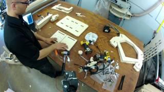 Diy Book Scanner Kit Cradle Assembly