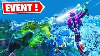 🔴 LE COMBAT FINAL ! LE MONSTRE VS LE ROBOT ! EVENEMENT SAISON 9 FORTNITE EN LIVE !