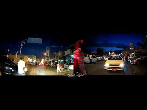 Mandeville on Saturday Night   Part one  Jamaica   Walinton Mosquera