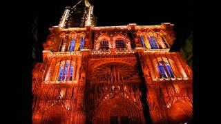Кафедральный собор в Страсбурге.(Ночное светомузыкальное шоу., 2011-09-17T17:52:07.000Z)