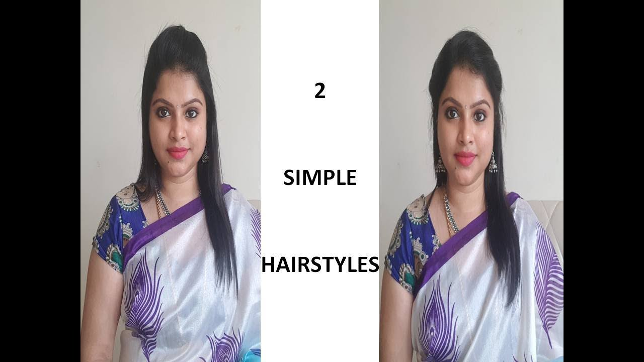 2 SIMPLE HAIRSTYLES - INDIANMOMLIFESTYLE - YouTube