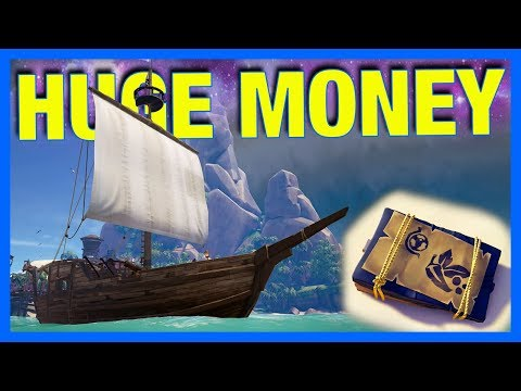 Sea of Thieves : BEST FIRST CHEST - HUGE MONEY!! **full game**